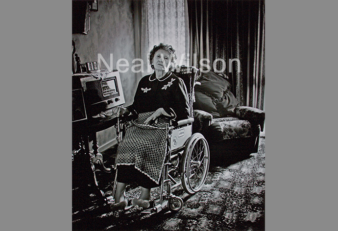Betty Berry In Wheelchair