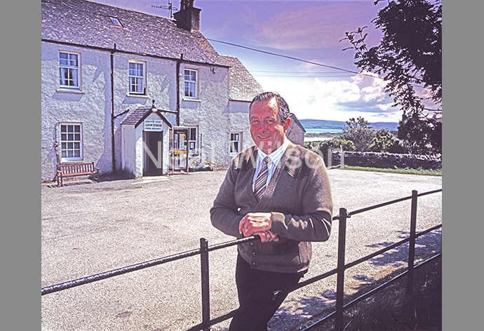 Hamish McSporran - Post Office Master, Isle Of Gigha